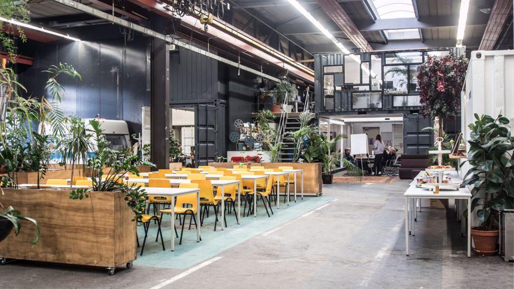 - Chateau Amsterdam, workspace, city winery