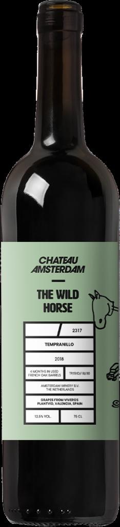 - THE WILD HORSE Tempranillo, organische wijn, chateau Amsterdam